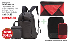 PACKSMART Day Traveller Set